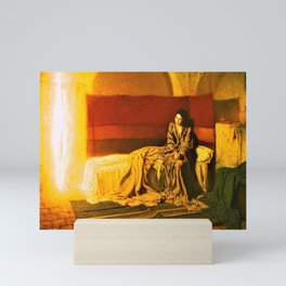 12,000pixel-500dpi - Henry Ossawa Tanner - The Annunciation - Digital Remastered Edition Mini Art Print