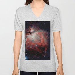 Orion Nebula Unisex V-Neck