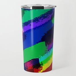 Colorful ink Travel Mug