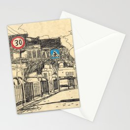 repairs near the сonsulate in Lviv Stationery Cards