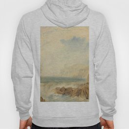 "J.M.W. Turner ""The entrance to Fowey Harbour, Cornwall"" Hoody"