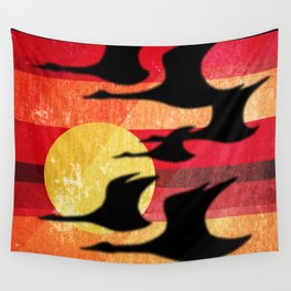 Sunset Migration Wall Tapestry