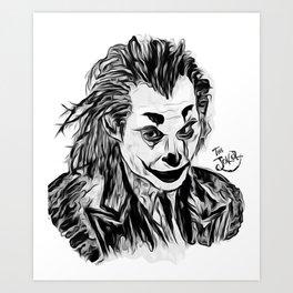 Can You Introduce Me As Joker? Art Print