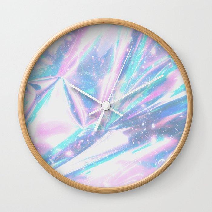 Iridescence Wall Clock