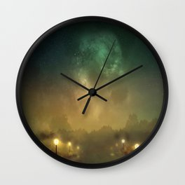 Ghost Lights Wall Clock