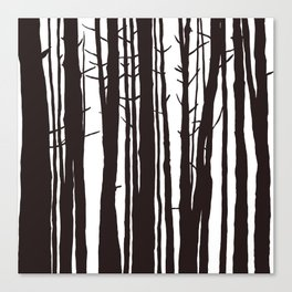 The Trees and The Forest Canvas Print