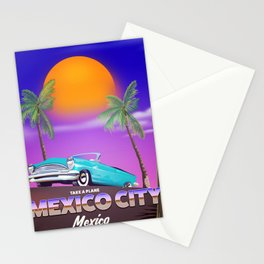 """Mexico City - """"Mexican nights"""" version Stationery Cards"""