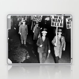 We Want Beer Prohibition Laptop & iPad Skin