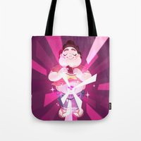 steven universe Tote Bags featuring Steven Universe by Doki Rosi
