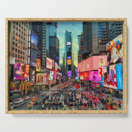 Times Square Serving Tray