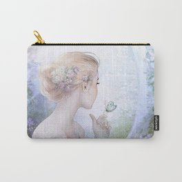 Dream of gentleness - princess in royal garden Carry-All Pouch