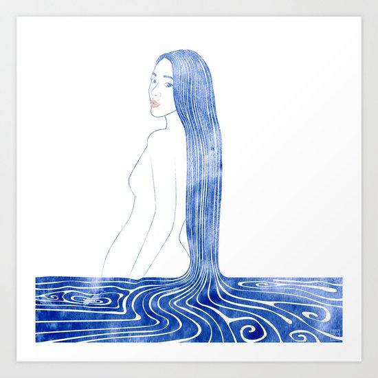Water Nymph CI Art Print