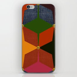 KALEIDOSCOPE 05 #HARLEQUIN iPhone Skin