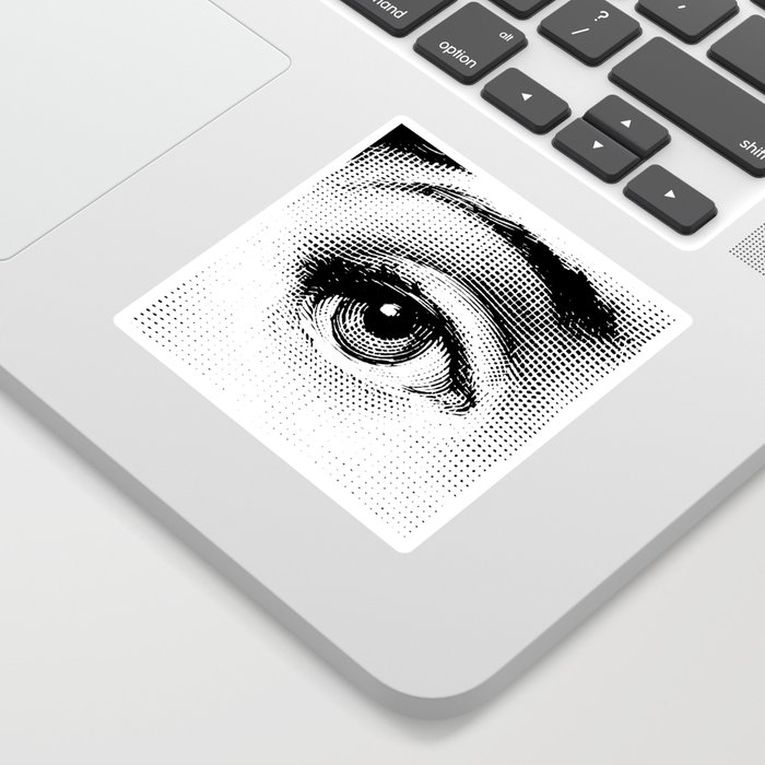 Lina Cavalieri Eye 01 Sticker
