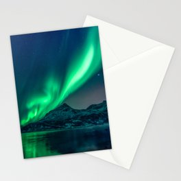 Aurora Borealis (Northern Lights) Stationery Cards