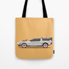 Back to the Future Part III Tote Bag