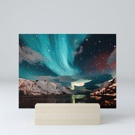 Northern light 3 Mini Art Print