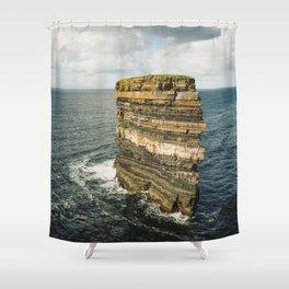 Dun Briste Shower Curtain