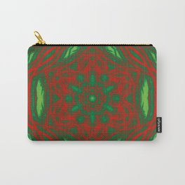 Christmas Stars Kaleidoscopes Carry-All Pouch