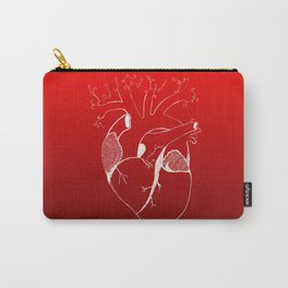 Realistic mandala heart Carry-All Pouch