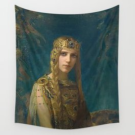 "Gaston Bussiere (French, 1862-1929), ""Isolde"". Wall Tapestry"