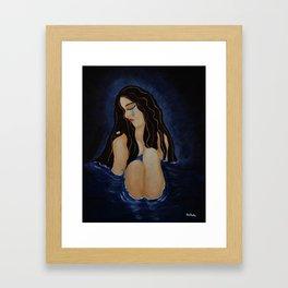 Pool of Sorrow Framed Art Print