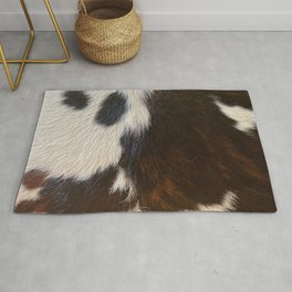 Cowhide Farmhouse Decor  Rug