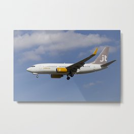 Jettime Boeing 737 Metal Print