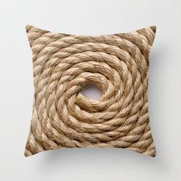 Sisal rope Throw Pillow
