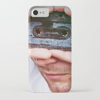 cassette iPhone & iPod Cases featuring Cassette by 60infinito