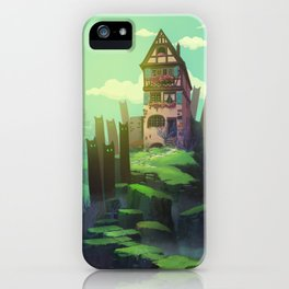 The Spirits of the Valley iPhone Case