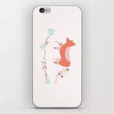 fox & grapes iPhone & iPod Skin