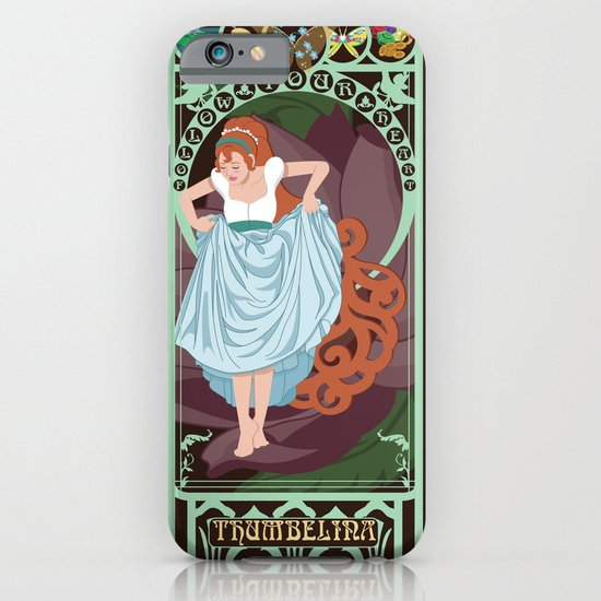 Thumbelina Nouveau - Thumbelina iPhone & iPod Case