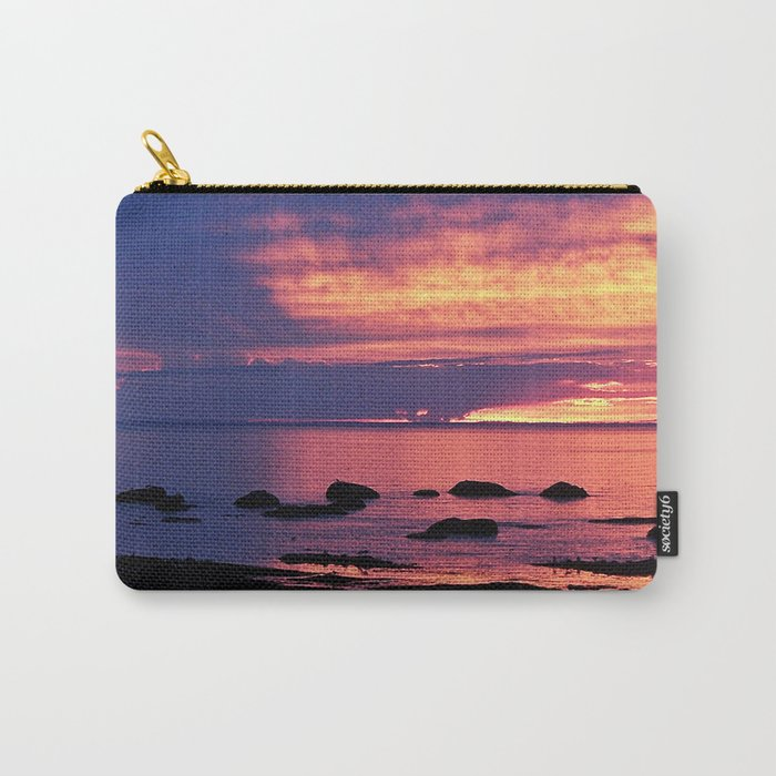 Sunset on the Mighty St-Lawrence Carry-All Pouch