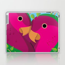Tropical Lovebirds Laptop & iPad Skin