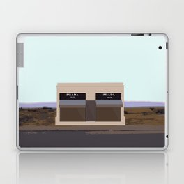 Marfa Installation: A digital illustration Laptop & iPad Skin