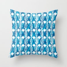 hand dyed eggs Throw Pillow