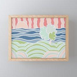It's A Wonderful World Framed Mini Art Print