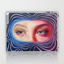 Why won't you look me in my eyes? Laptop & iPad Skin