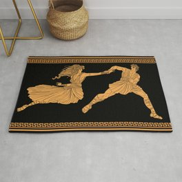 hades and persephone rapt Rug