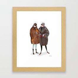 NY Russian Ladies Framed Art Print