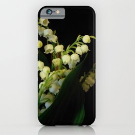 lilly of the valley 3 iPhone Case