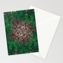 Pine Needles and Cones I Stationery Cards