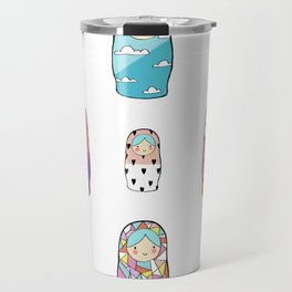 Nesting Dolls Travel Mug