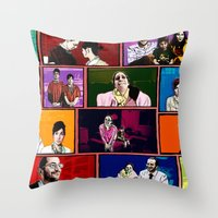 comics Throw Pillows featuring Comics by AntWoman