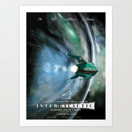 Intergalactic Art Print