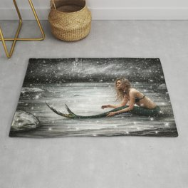Winter Mermaid Rug