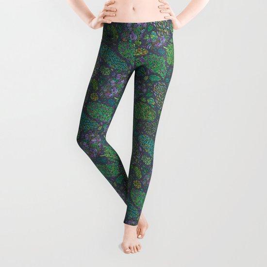 Nugs in Green Leggings