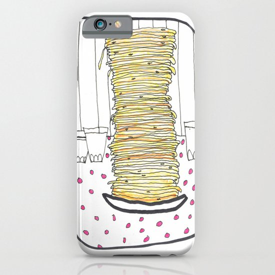 Pancakes iPhone & iPod Case