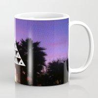 adventure Mugs featuring ADVENTURE by Wesley Bird